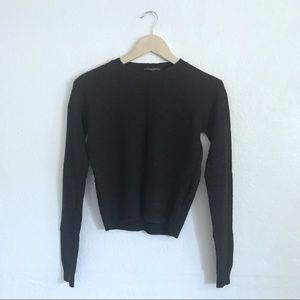 Abi soft grey sweater